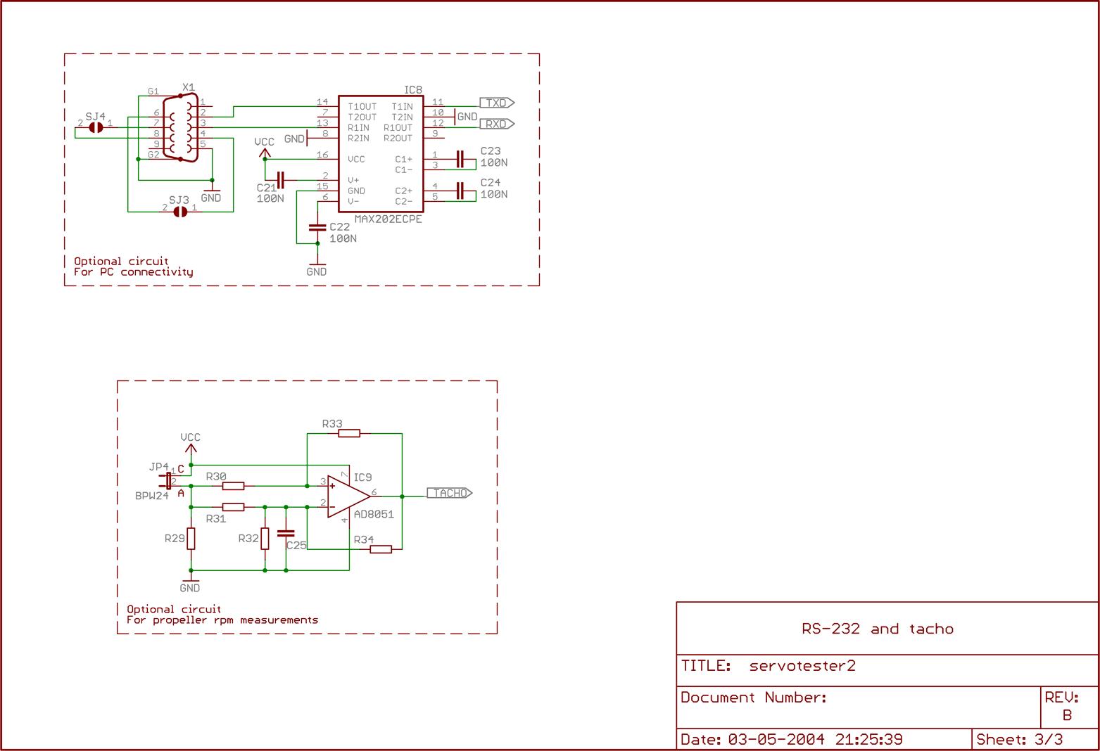 Servo Tester 2 – Mikaels corner of the web